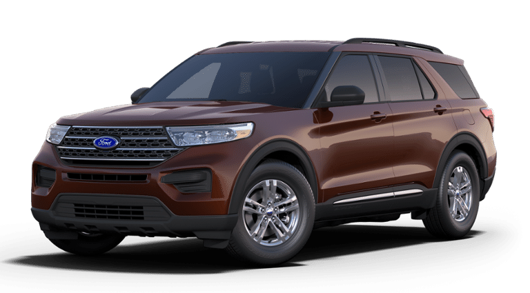 New 2019 Ford Explorer XLT 4x2