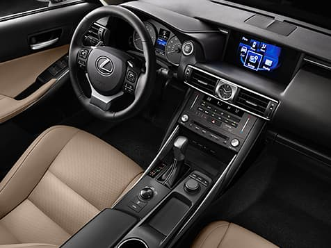 2019 Lexus IS-300 Interior