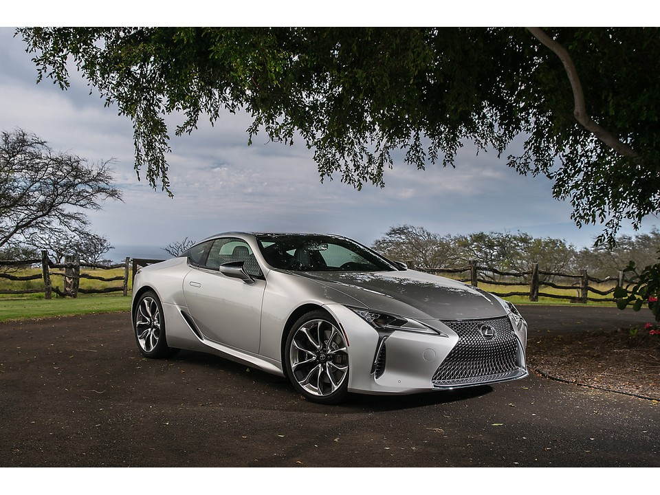 2019 Lexus LC 500 Safety