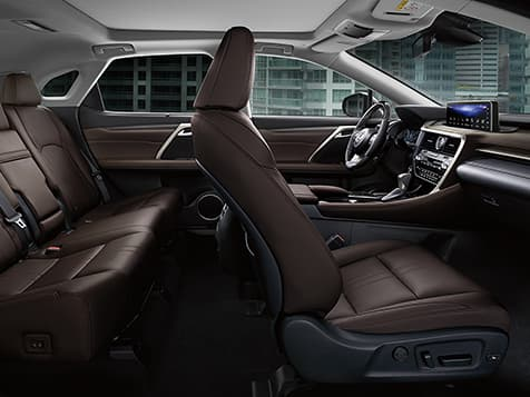 New 2019 Lexus RX 350L Interior