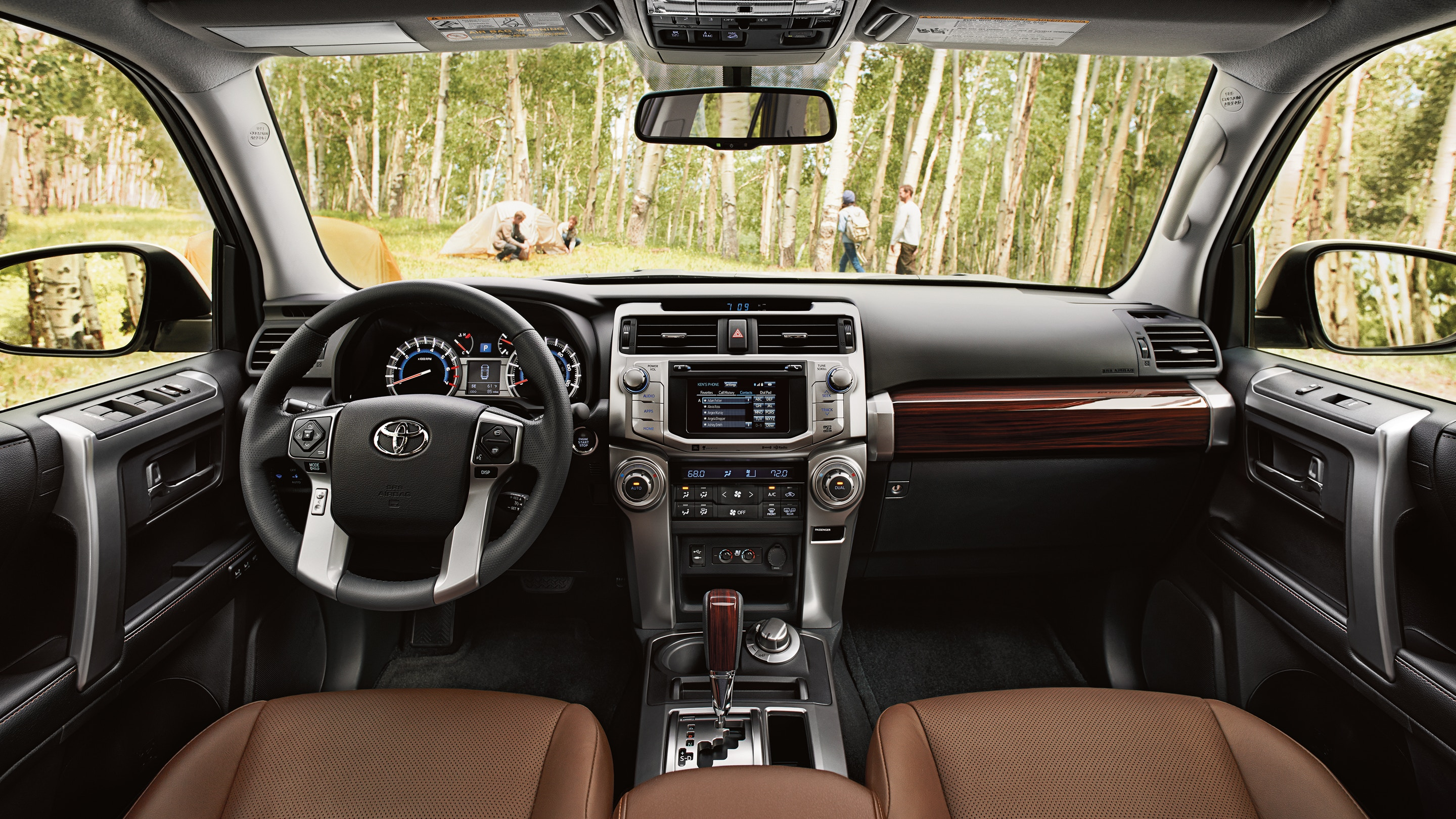 2019 Toyota 4Runner Technology in Jacksonville, FL