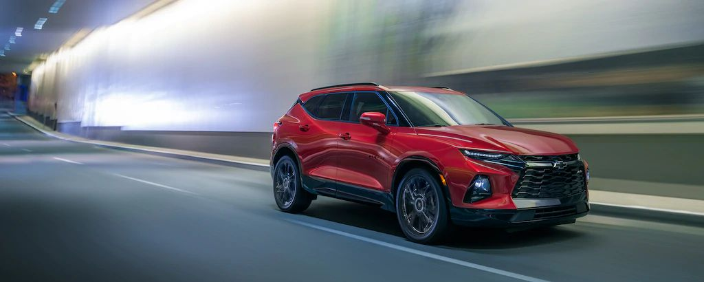 What is the MPG of the 2020 Chevrolet Blazer?