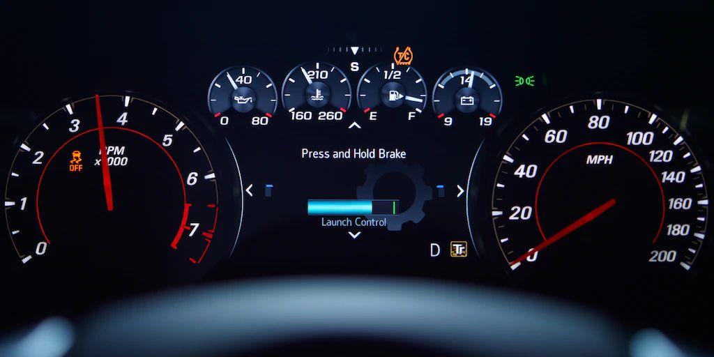 2020 Chevrolet Camero Interior