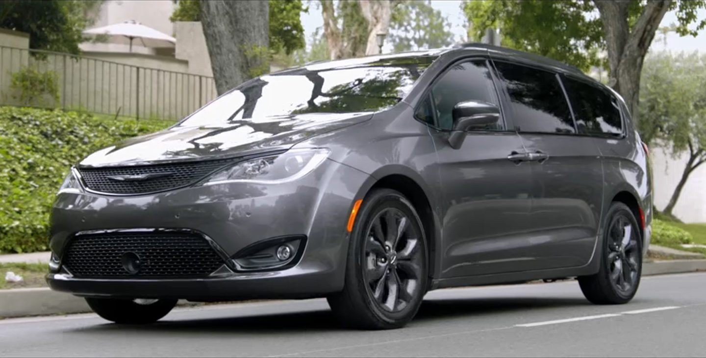 2020 Chrysler Pacifica Exterior Features