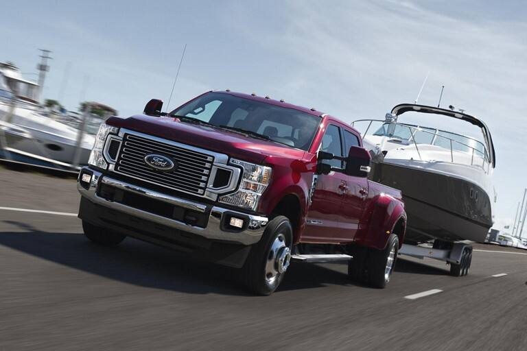 2020 Ford F-250 Technology