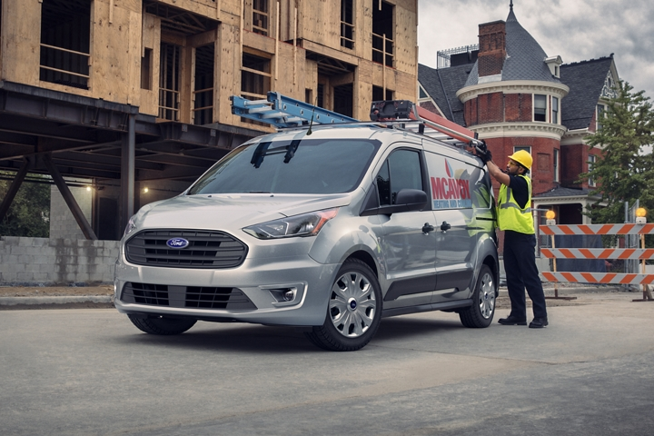 2020 Ford Transit Connect Exterior Features