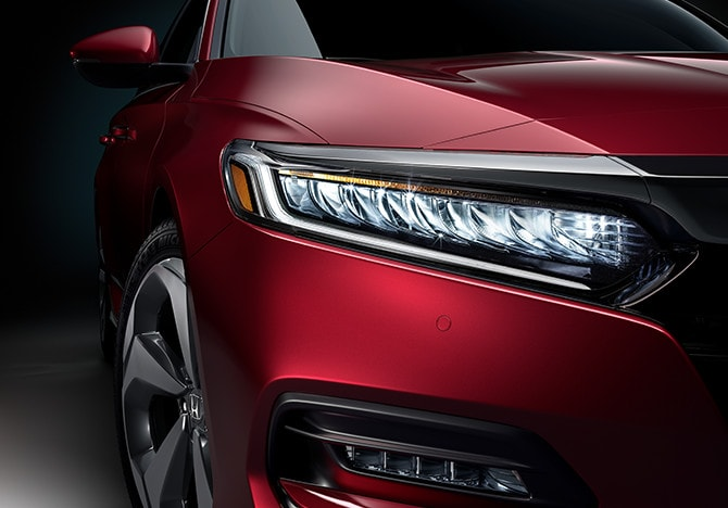 2020 Honda Accord Exterior Red