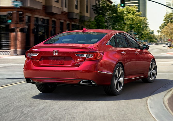 The 2020 Honda Accord Sedan has great performance and is for sale at Castle Honda near Lombard IL