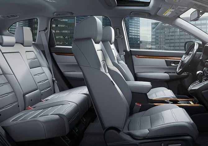 New 2020 Honda CR-V Interior