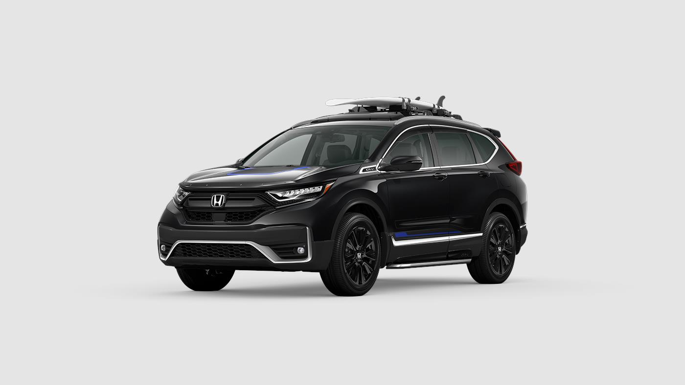 2020 Honda CR-V Touring Blue Accents