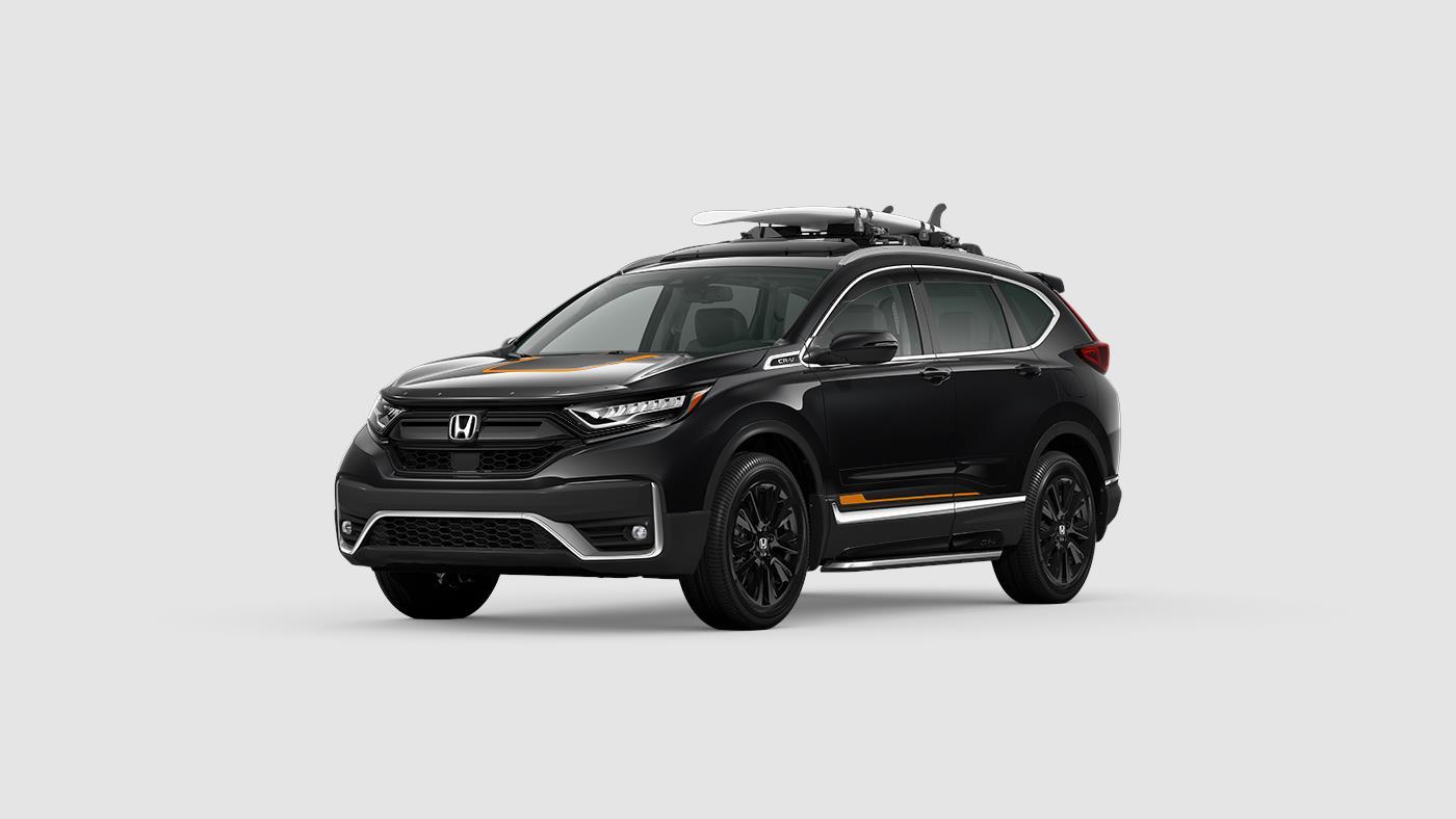 2020 Honda CR-V Touring Orange Accents