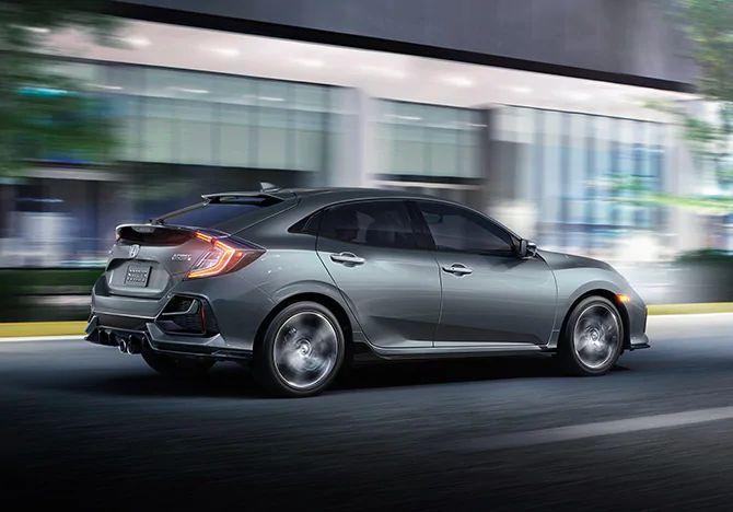 2020 Honda Civic Hatchback Exterior in Elgin, IL