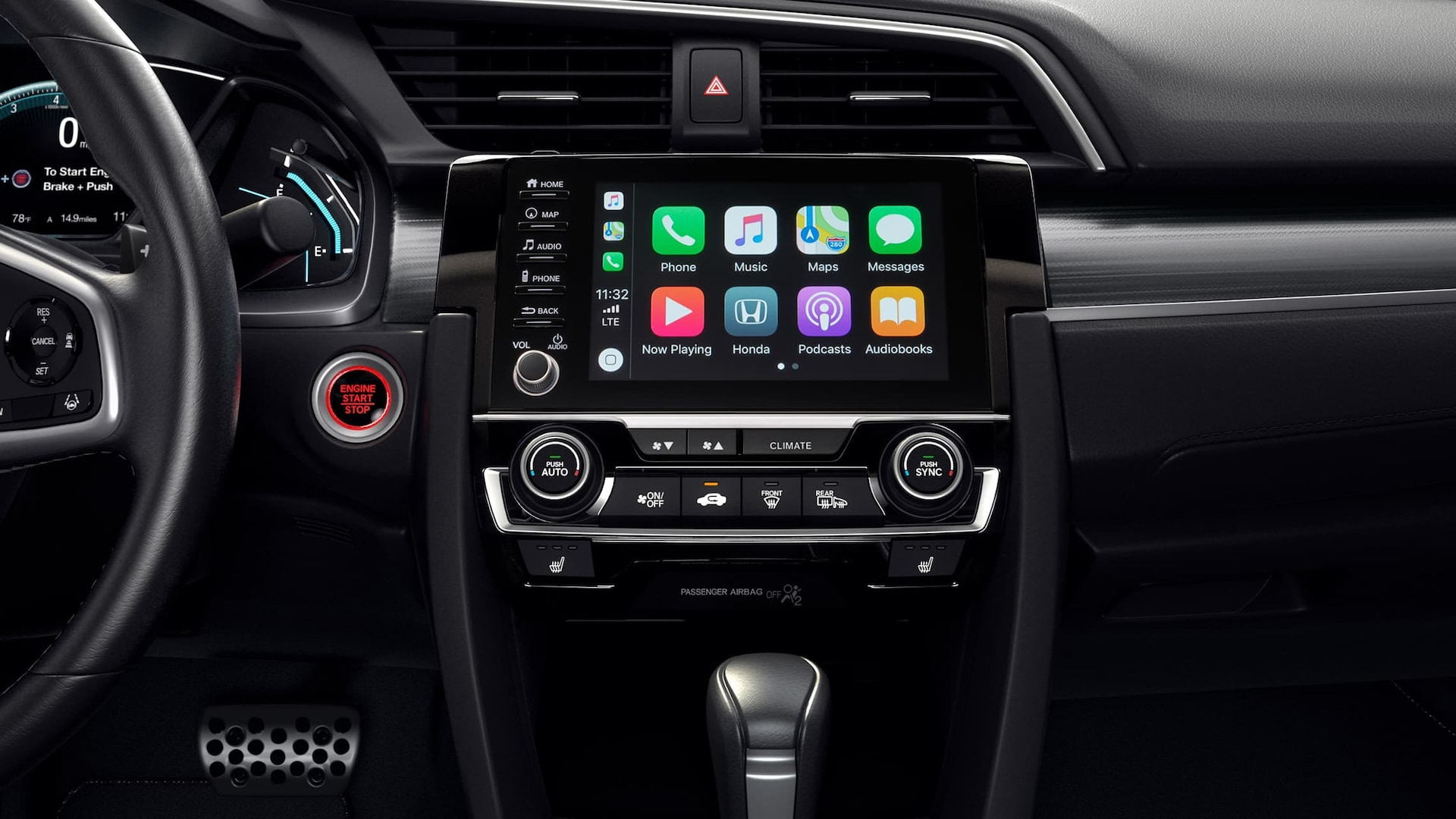 New 2020 Honda Civic Technology Features