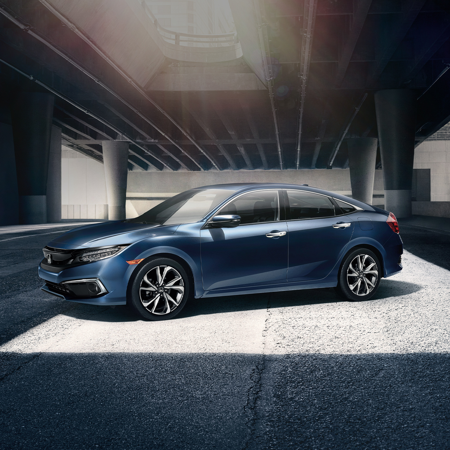 What is the MPG of the 2020 Honda Civic?