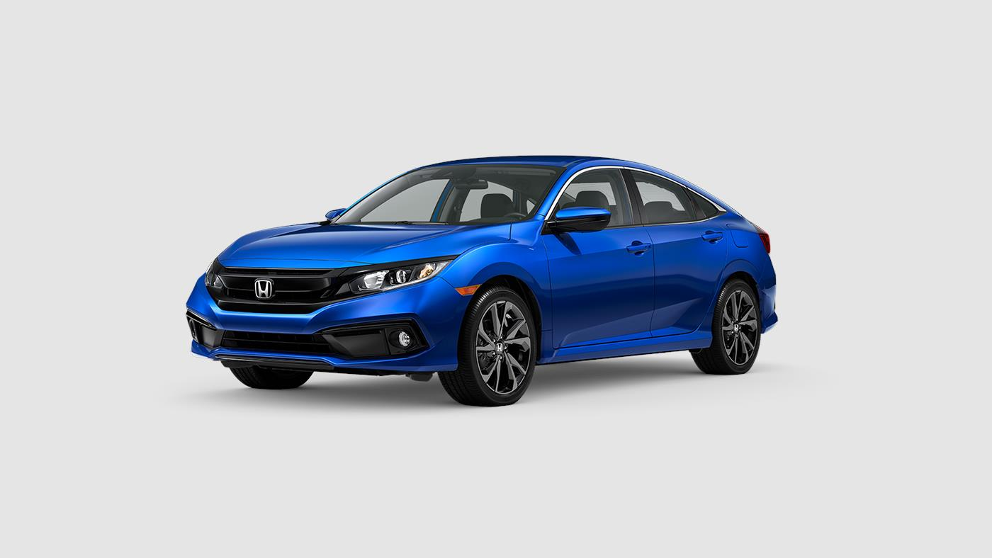 The New 2020 Honda Civic Sport is for sale at Castle Honda