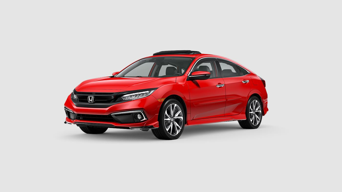 2020 Honda Civic Touring with optional accessories