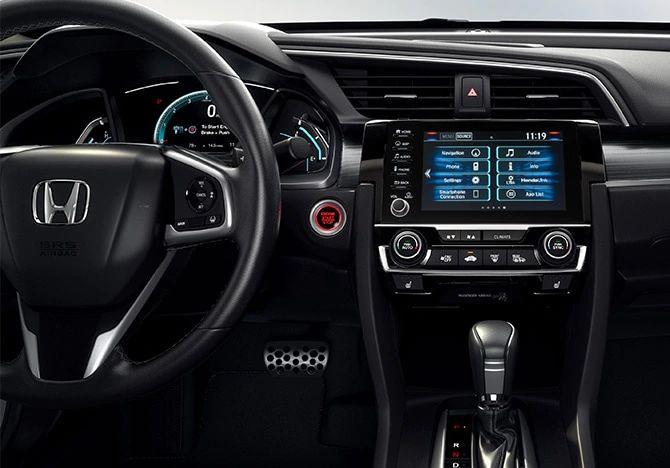 2020 Honda Civic Coupe Technology