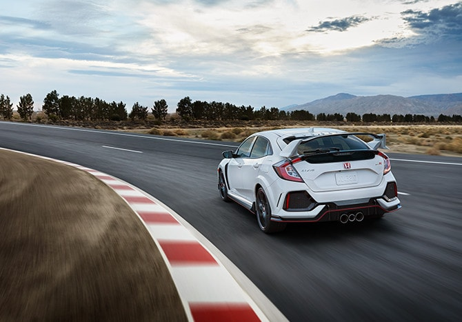 New 2020 Honda Civic Type R Safety Features