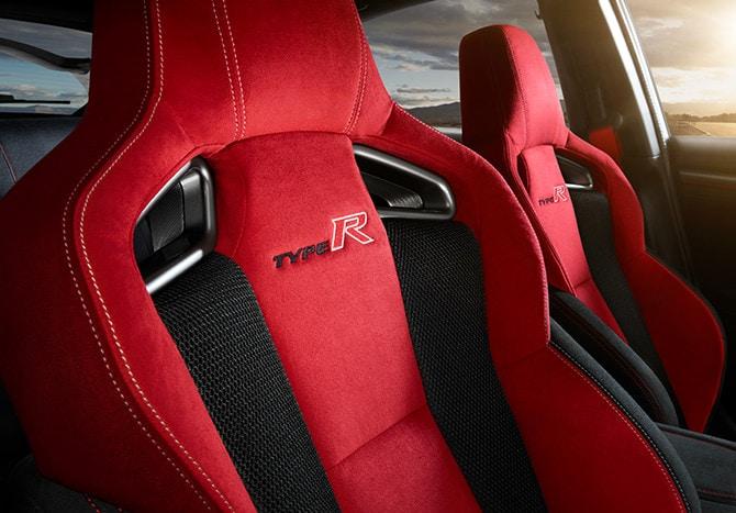 New 2020 Honda Civic Type R Interior