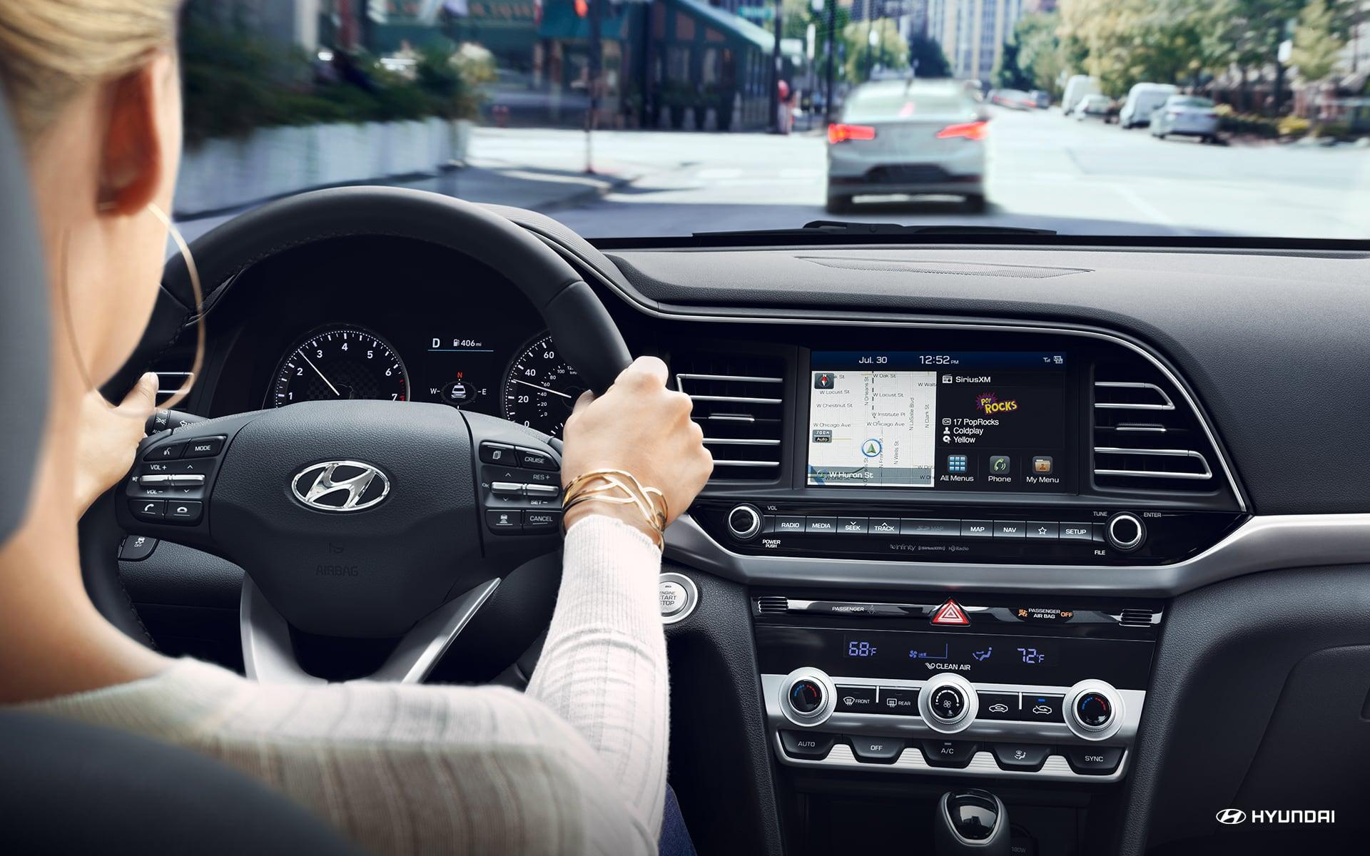 2020 Hyundai Elantra Technology
