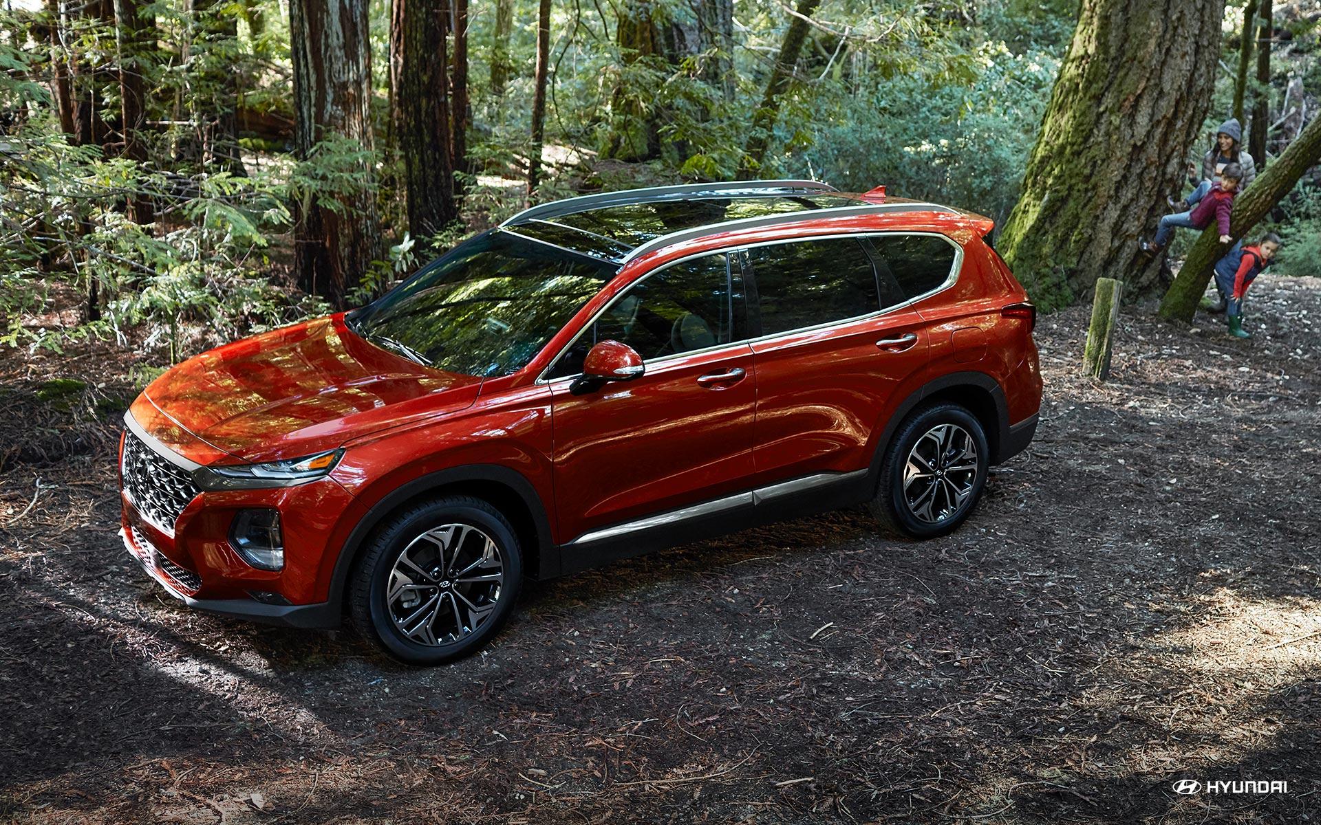 Get Hyundai Santa Fe 2020