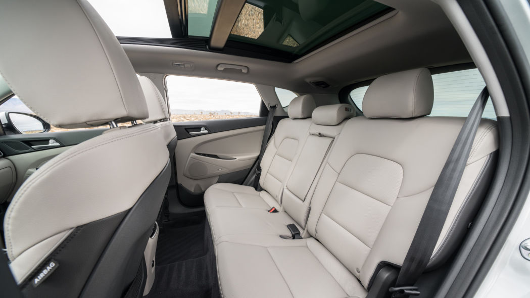 2020 Hyundai Tuscon Interior