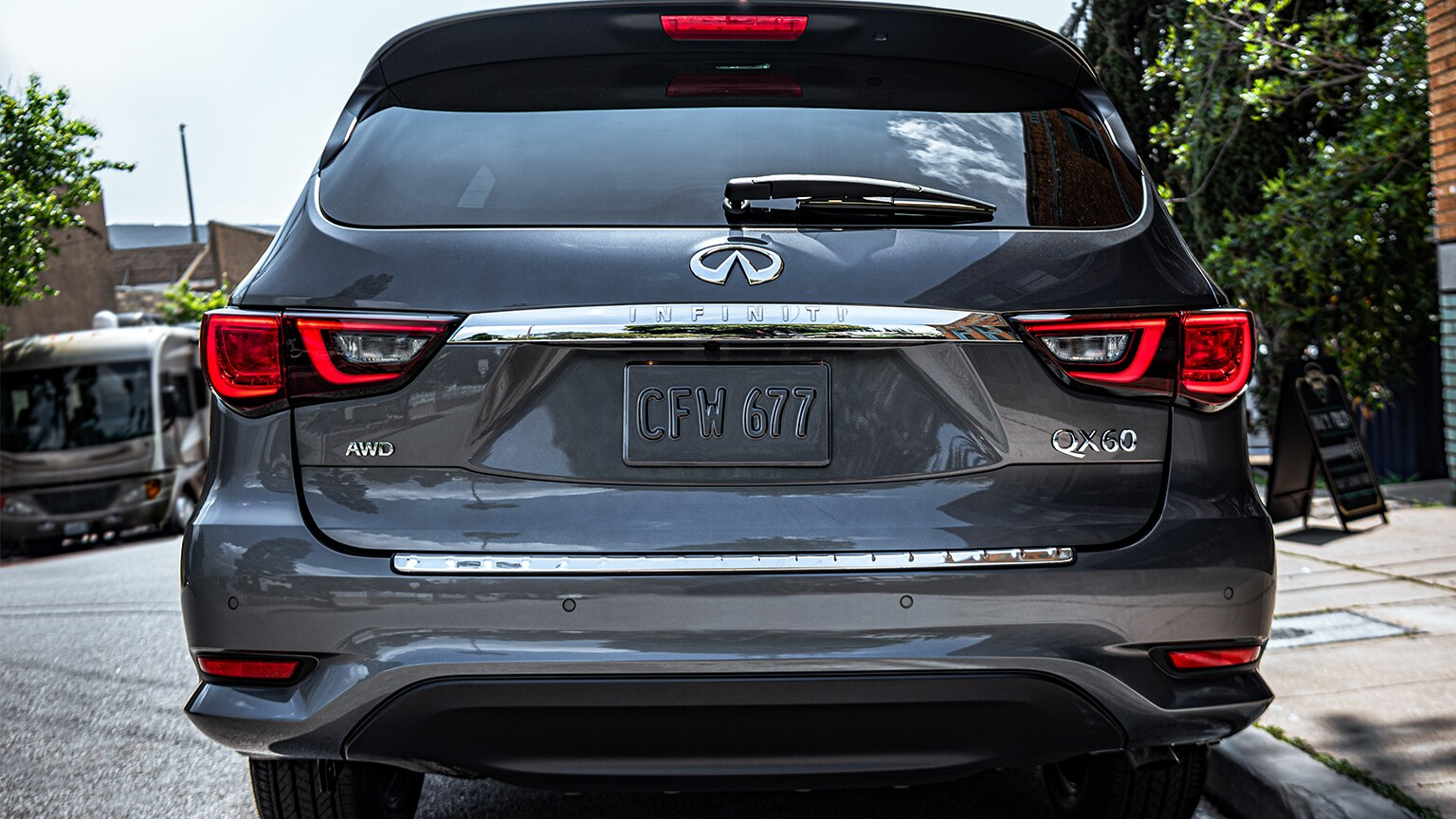 2020 INFINITI QX60 Towing & Performance Features