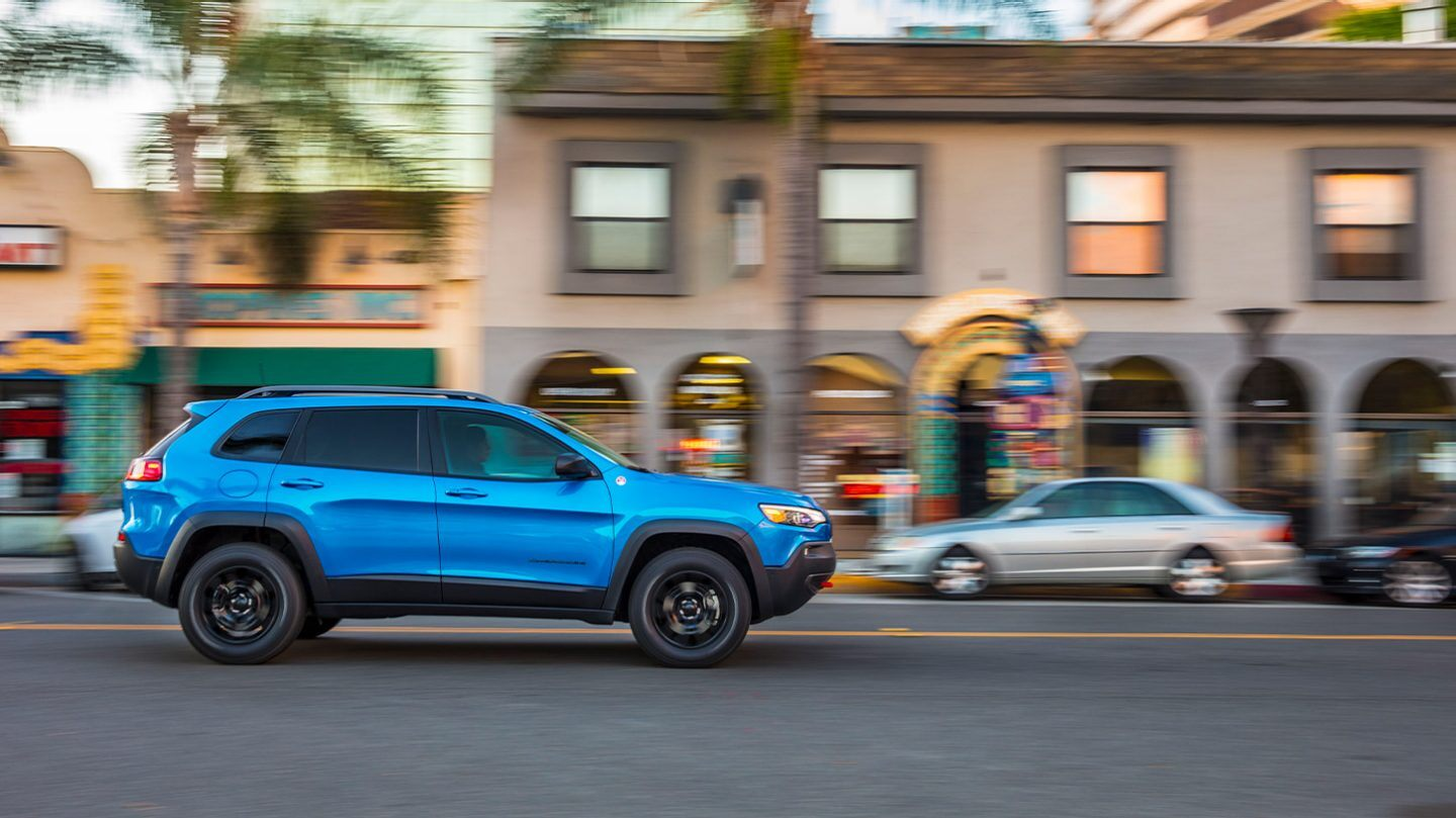 2020 Jeep Cherokee Safety Features