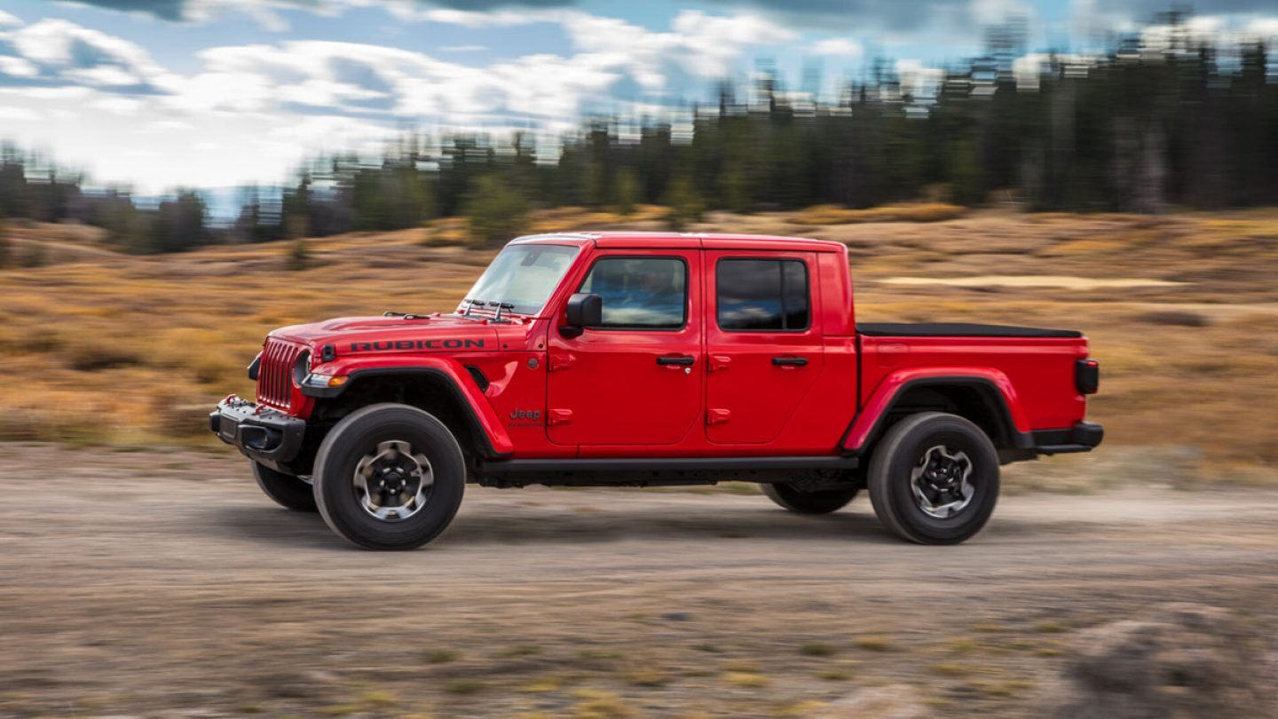 2020 Jeep Gladiator Rubicon Overview