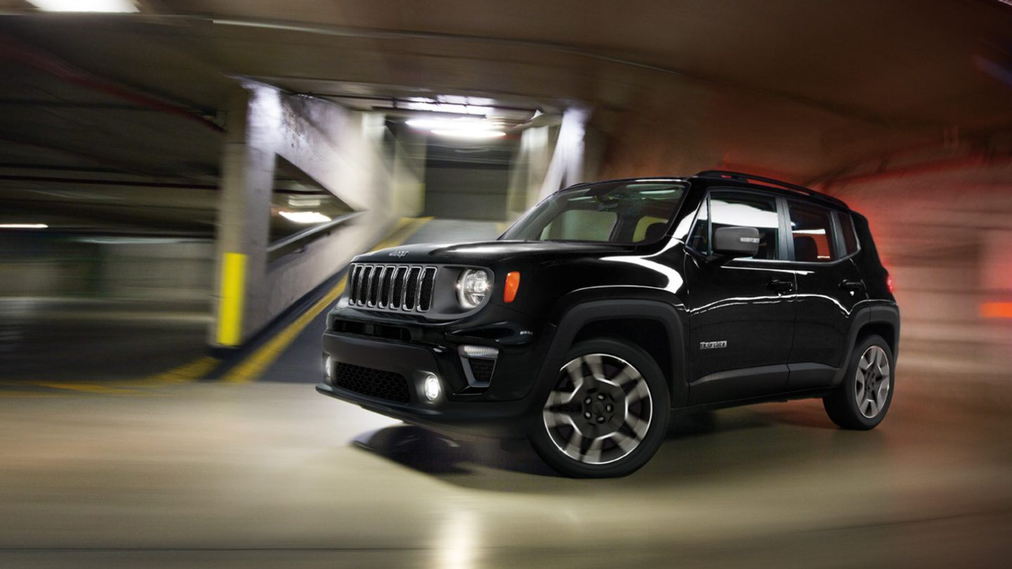 New 2020 Jeep Renegade Limited Trim and Features