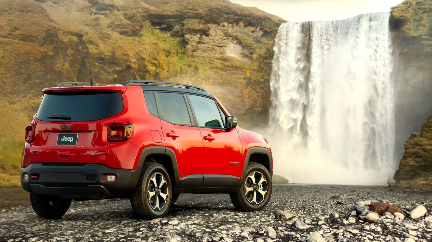 New 2020 Jeep Renegade Trailhawk Trim and Features