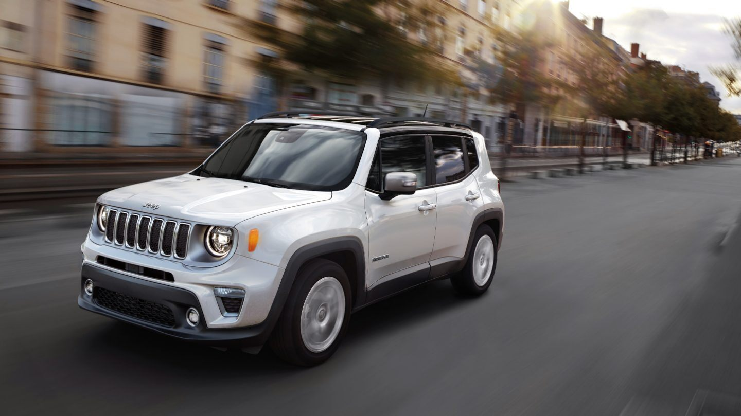 2020 Jeep Renegade Exterior Features