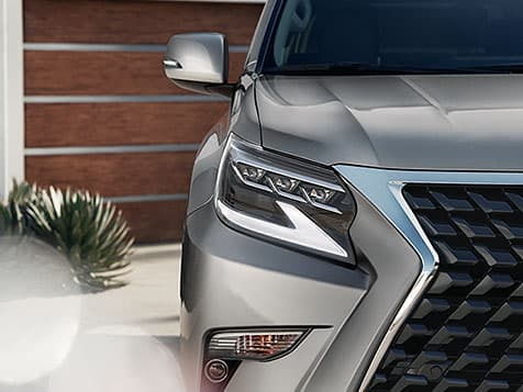 2020 Lexus GX 460 Exterior with an aggressive stance