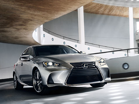 2020 Lexus IS 300 Exterior with an aggressive stance