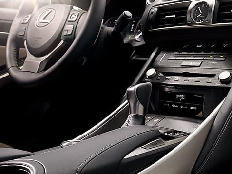 2019 Lexus IS-300 interior