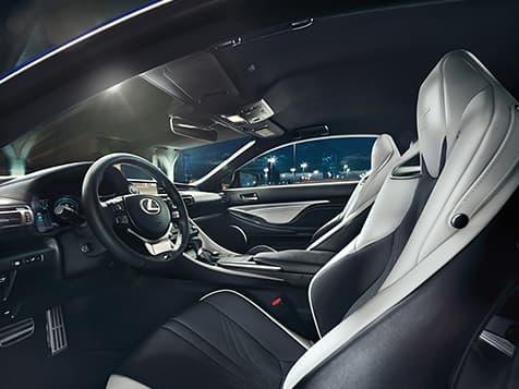 New 2020 Lexus RC-F Technology