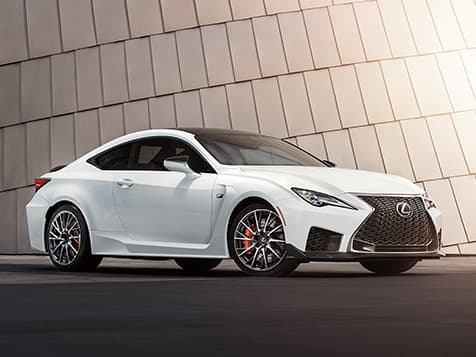 New 2020 Lexus RC-F Safety Features