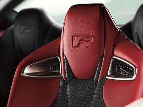 New 2020 Lexus RC-F Interior