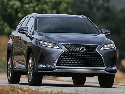2020 Lexus RX 350 Exterior with an aggressive stance