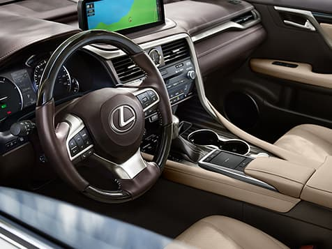 2020 Lexus RX 350 with a beautiful Interior