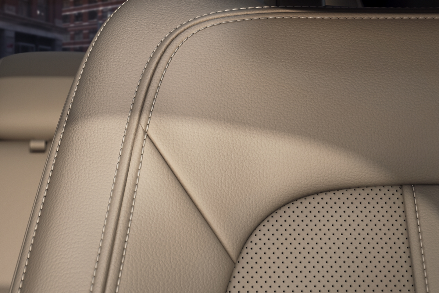 The spacious interior of the 2020 Lincoln MKZ