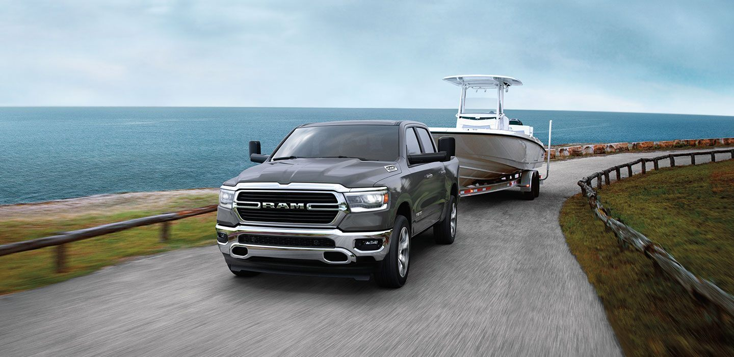 The 2020 Ram 1500 has class leading towing and cargo capabilities and is avaliable at Mancari CDJR in Chicago, IL