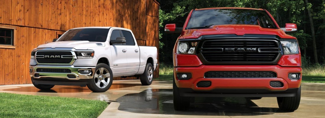 How much can the 2020 Ram 1500 tow?