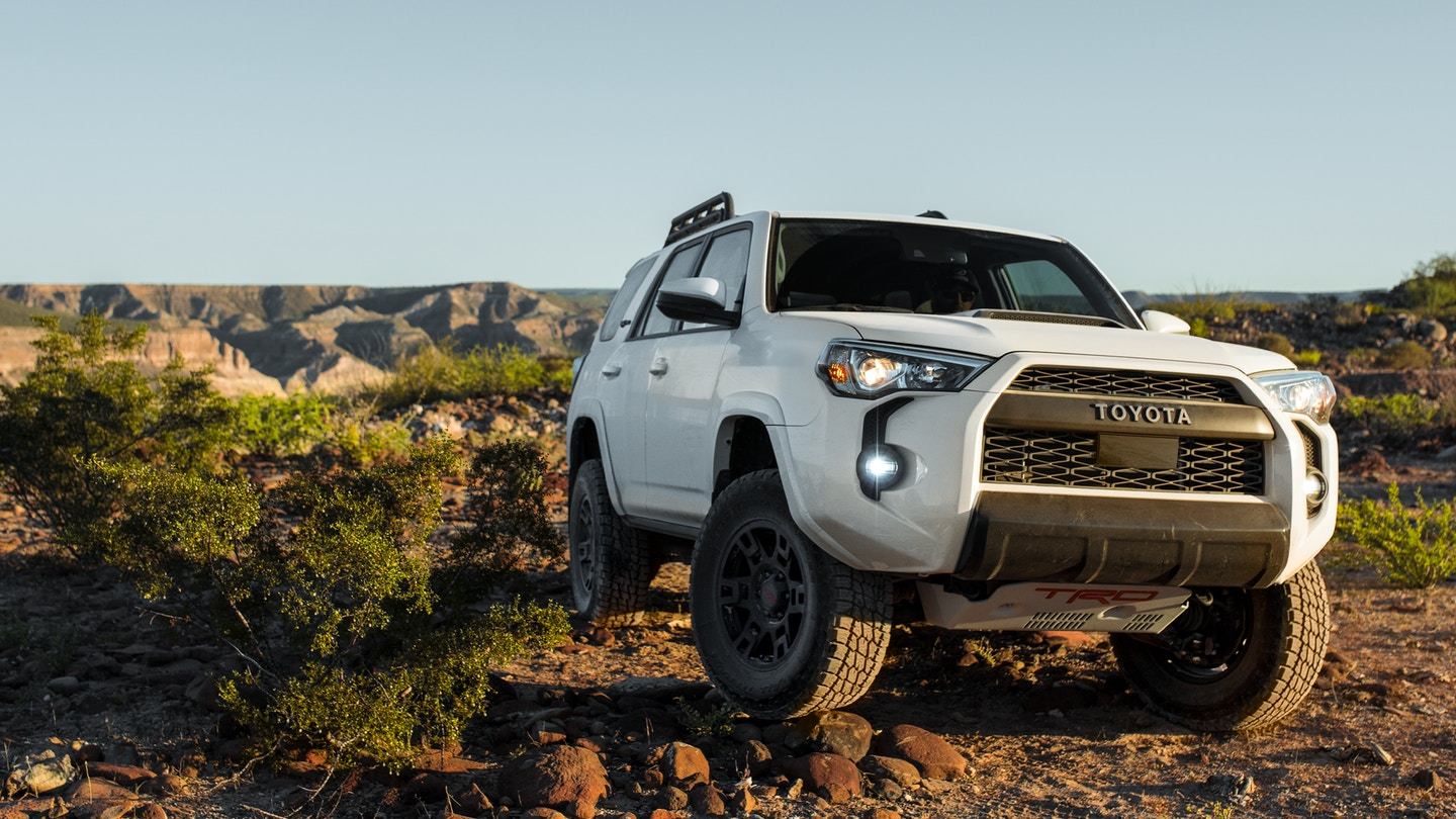 The sleek exterior of the 2020 Toyota 4Runner