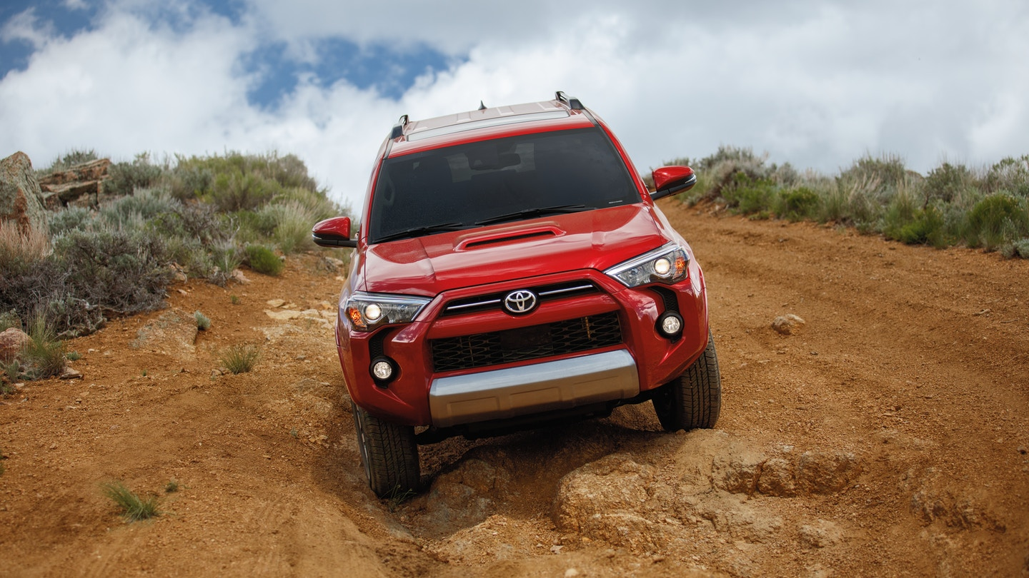 Stay safe inside the 2020 Toyota 4Runner
