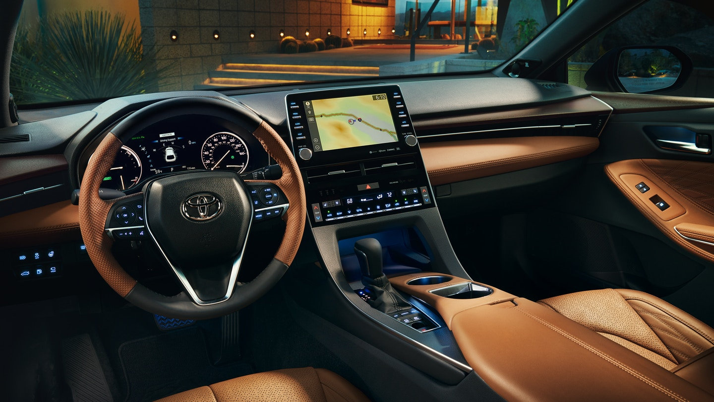 The 2020 Toyota Avalon with a gorgeous interior for sale at Arlington Toyota in Jacksonville, FL