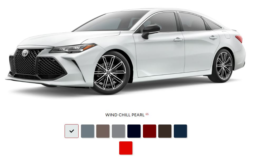 The 2020 Toyota Avalon with a sleek exterior for sale at Arlington Toyota in Jacksonville, FL