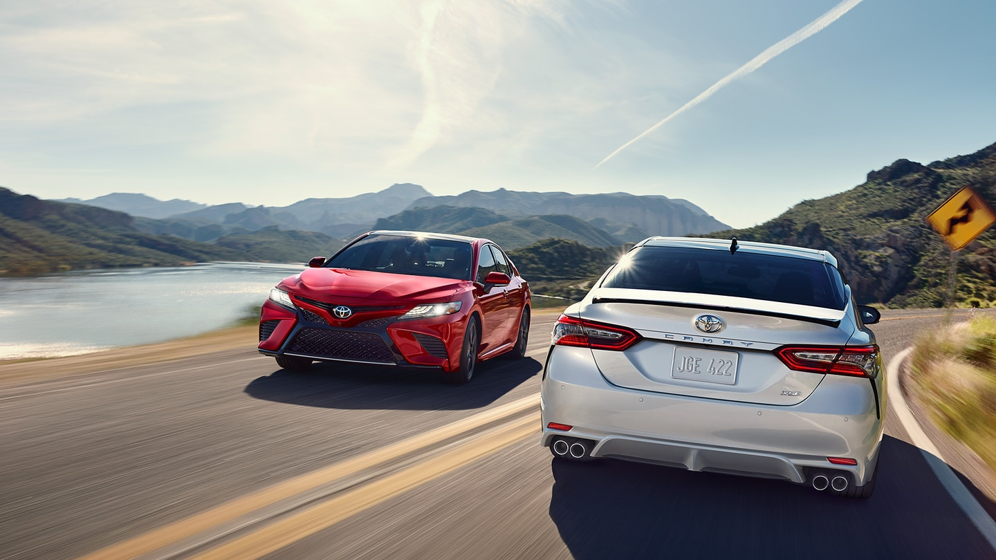 The 2020 Toyota Camry with must have safety features for sale at Arlington Toyota in Jacksonville, FL