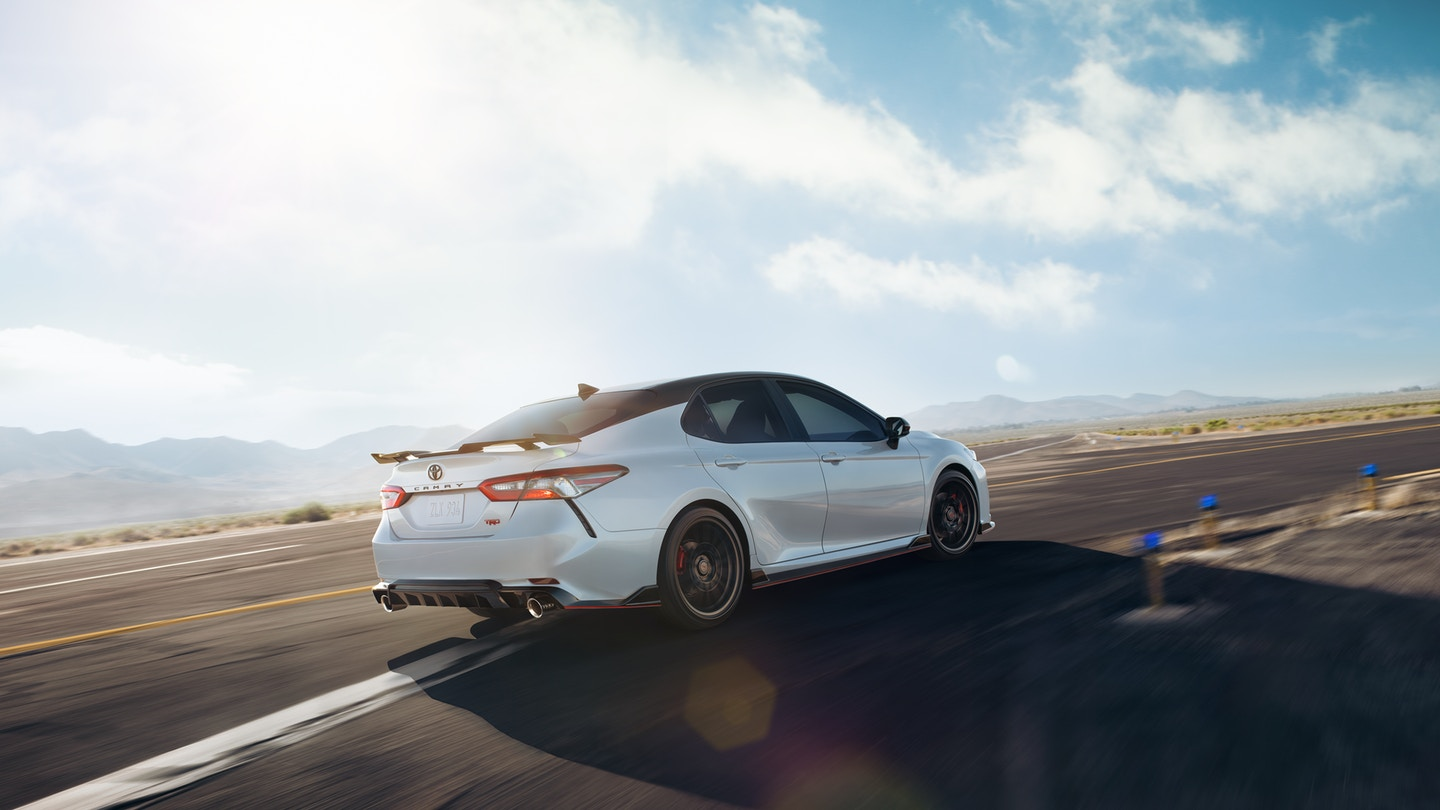 The 2020 Toyota Camry has great performance and is for sale at Arlington Toyota in Jacksonville, FL