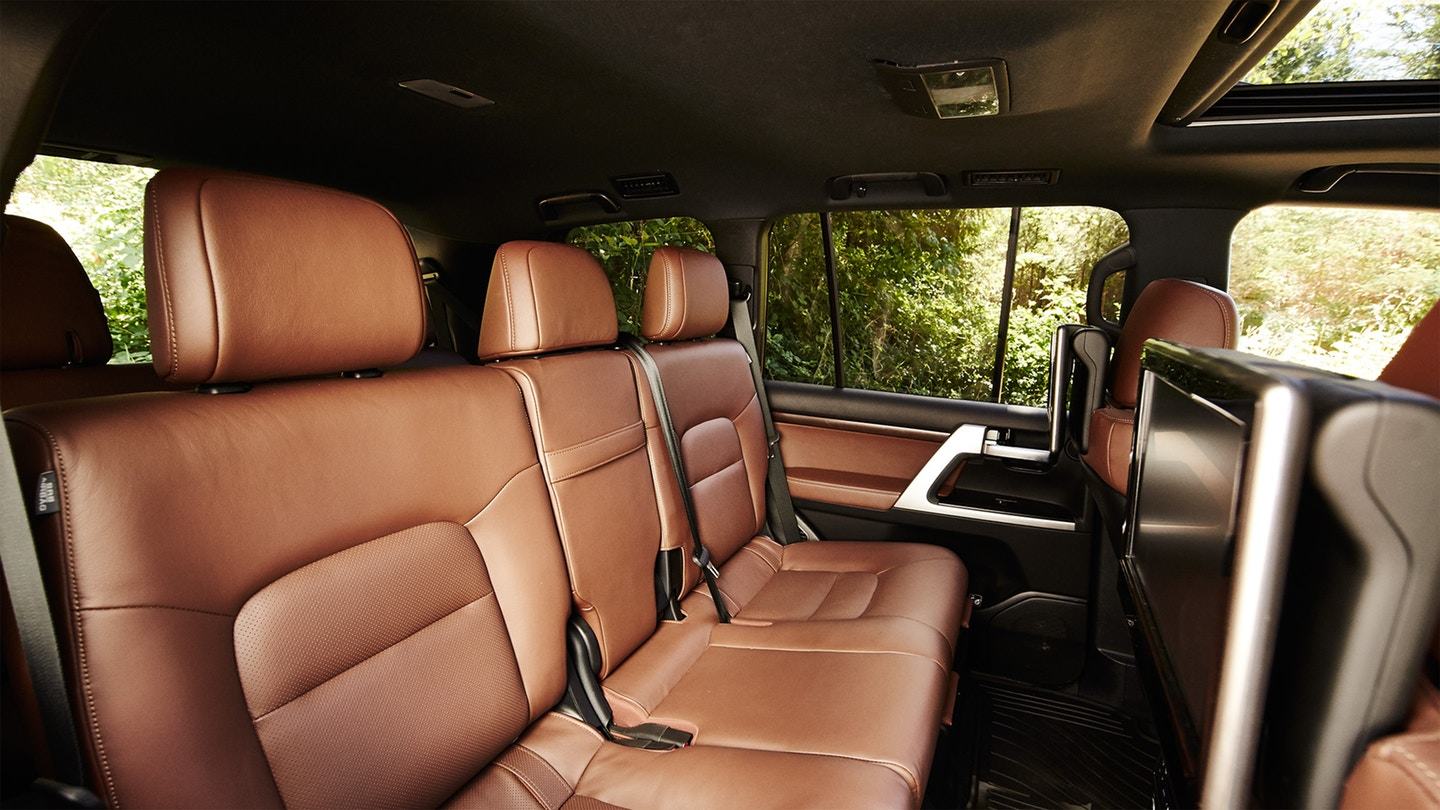 The 2020 Toyota Land Cruiser with must have safety features for sale at Arlington Toyota in Jacksonville, FL